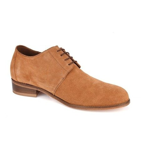 SONDRIO Elevator Shoes ON LEATHER SOLE +7CM