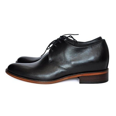 VENETO Elevator Shoes ON LEATHER SOLE