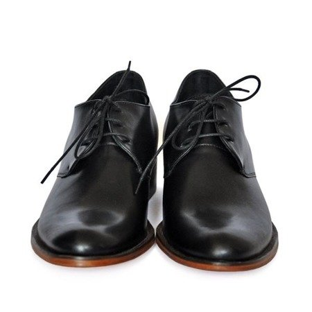 VENETO Elevator Shoes ON LEATHER SOLE  +7CM